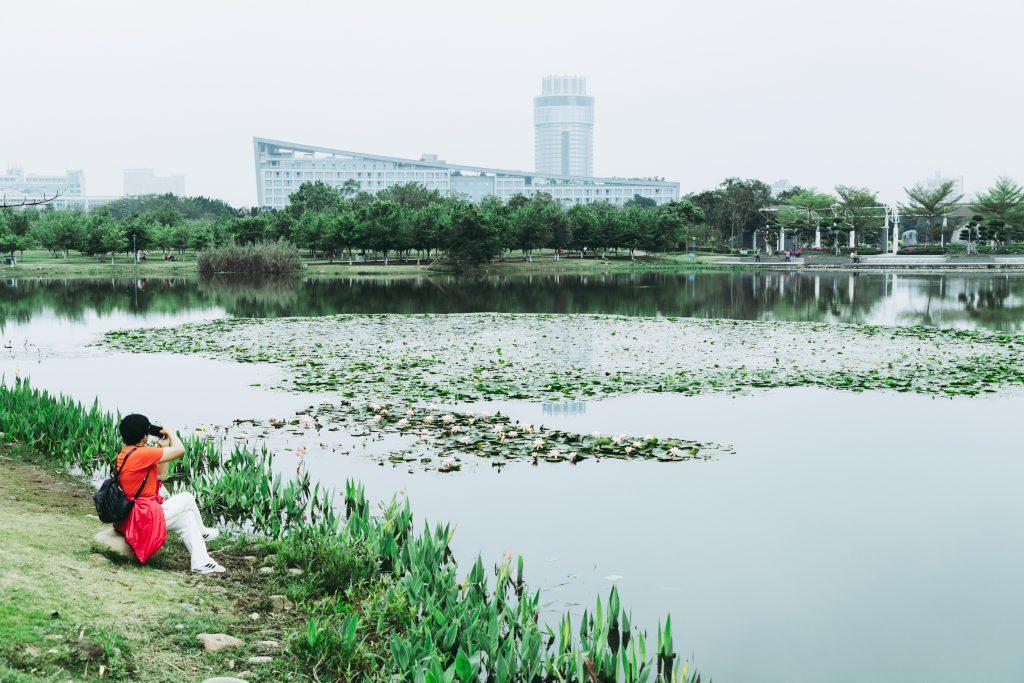 Xinghu Lake of Zhaoqing