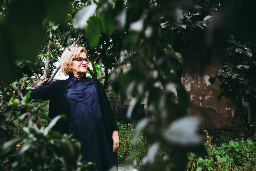 Adriana Freire, uma das protagonistas do projecto Muita Fruta