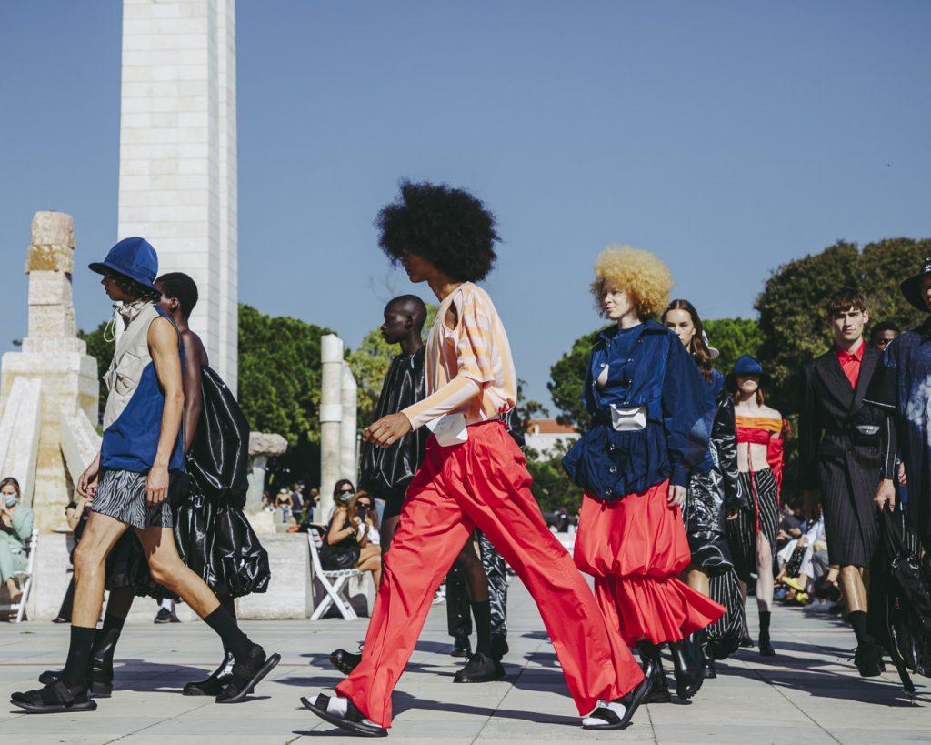 Moda Lisboa Out 2020, Colecao Ricardo Andrez, Parque Eduardo II, Lisboa